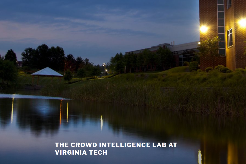 Crowd Intelligence Lab at Virginia Tech